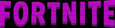 Принт Чоловіча футболка Fortnite purple logo text, Фото № 1 - FatLine