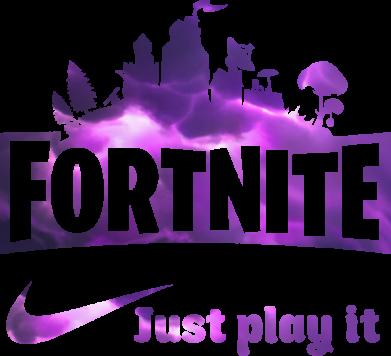 Принт Жіноча футболка Fortnite just play it, Фото № 1 - FatLine