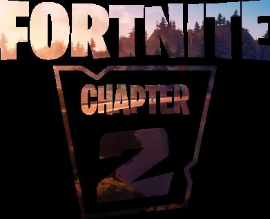 Принт Женская футболка Fortnite text chapter 2, Фото № 1 - FatLine