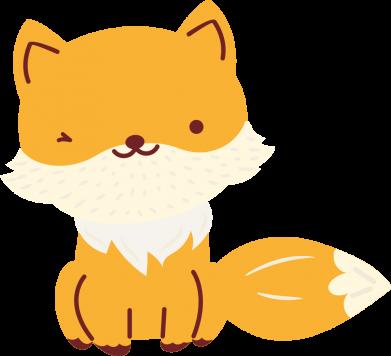 Принт Женская футболка Little red fox, Фото № 1 - FatLine