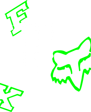 Принт Футболка Поло Fox Monster Energy - FatLine