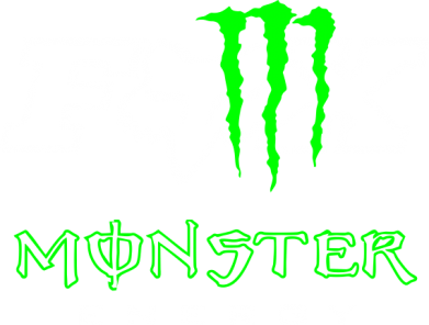 Принт Толстовка Monster Energy Fox Logo - FatLine