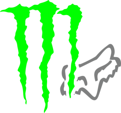 Принт Фартук Monster Energy FoX - FatLine