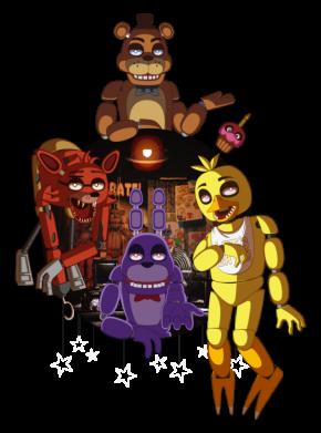 Принт Жіноча футболка Five Nights At Freddy's, Фото № 1 - FatLine
