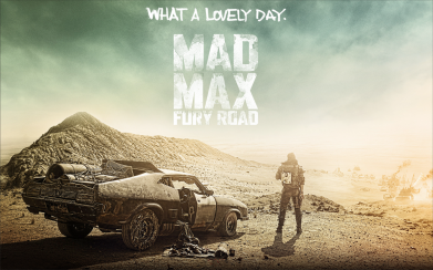 Принт Кепка-тракер Mad Max What A Lovely Day - FatLine