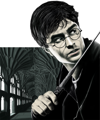 Принт Кепка Harry Potter, Фото № 1 - FatLine