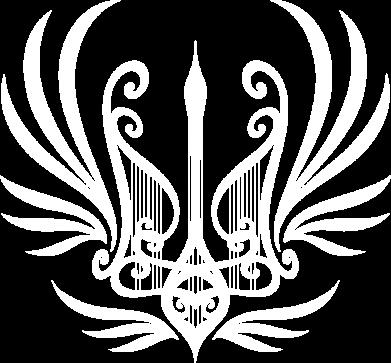 Принт Жіноча футболка Герб України у вигляді арфи, Фото № 1 - FatLine