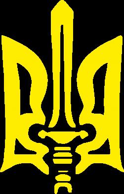Принт Футболка Герб з мечем - FatLine