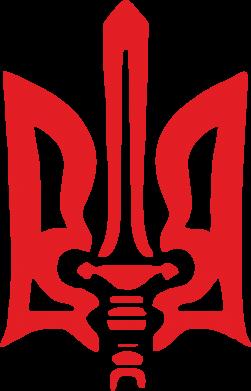 Принт Кепка-тракер Герб з мечем - FatLine