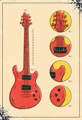 Принт Жіноча футболка Гітара, Фото № 1 - FatLine