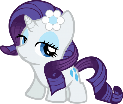 Принт Фартуx Rarity small - FatLine