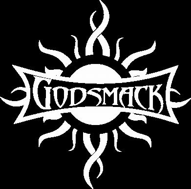 Принт Женская футболка с V-образным вырезом Godsmack - FatLine
