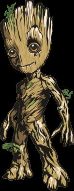 Принт Мужская толстовка Groot teen, Фото № 1 - FatLine