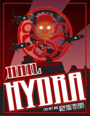 Принт Футболка Hail Hydra - FatLine