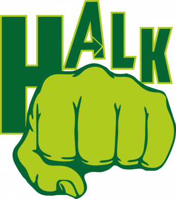 Принт Женская футболка Hulk fist, Фото № 1 - FatLine