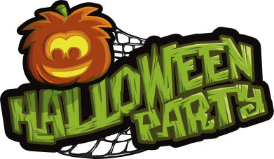 Принт Футболка Поло Halloween Party Logo - FatLine