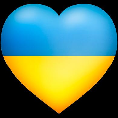 Принт Фартук Серце патріота - FatLine