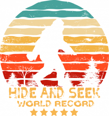 Принт Женская футболка Hide and seek world record, Фото № 1 - FatLine