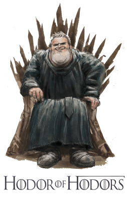 Принт Футболка Hodor of Hodors - FatLine