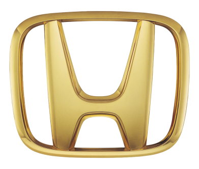 Принт Кружка 320ml Honda Gold Logo - FatLine