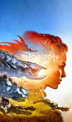 Принт Чехол для Samsung A6s Horizon Zero Dawn art, Фото № 1 - FatLine