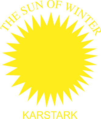 Принт Футболка Поло The Sun Of Winter - FatLine