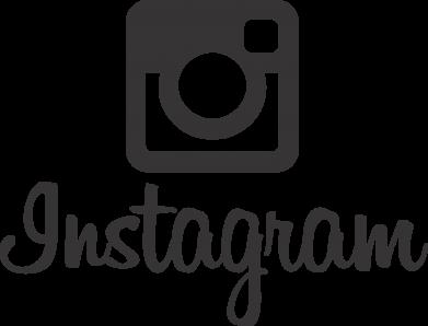 Принт Женская футболка с V-образным вырезом Instagram - FatLine