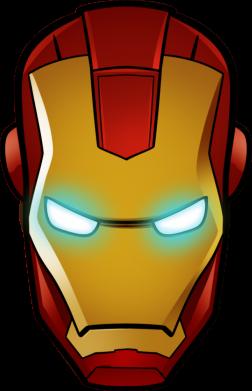 Принт Детская кепка Маскаа Железного Человека - FatLine