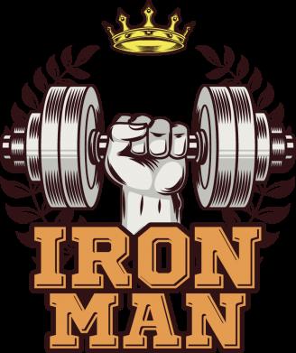 Принт Жіноча футболка Iron man and sports, Фото № 1 - FatLine