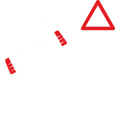 Принт Жіноча футболка Jeep pissing on the sign, Фото № 1 - FatLine