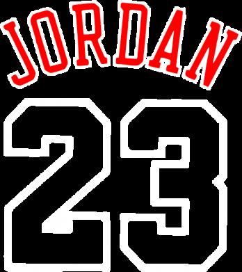 Принт Мужская футболка  с V-образным вырезом Jordan 23 - FatLine