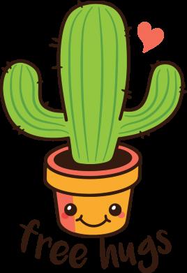 Принт Жіноча футболка Free Hugs Cactus, Фото № 1 - FatLine