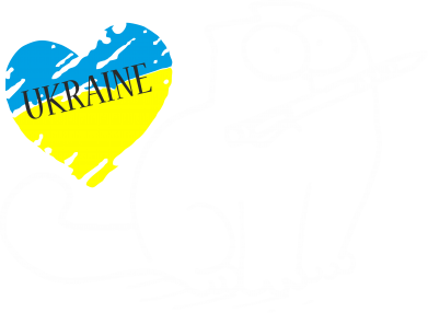 Принт Мужская толстовка на молнии Кіт-патріот - FatLine