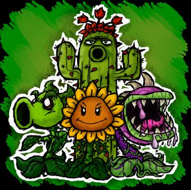 Принт Женская футболка Zombie vs Plants players, Фото № 1 - FatLine