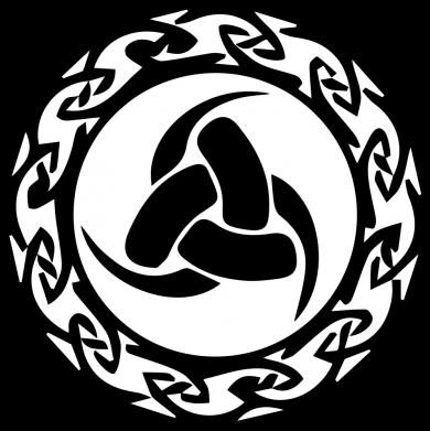 Принт Жіноча футболка Celtic knot circle, Фото № 1 - FatLine
