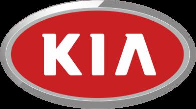 Принт Мужская футболка  с V-образным вырезом KIA Logo 3D - FatLine