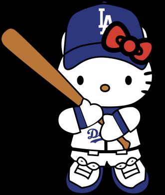 Принт Жіноча футболка Hello Kitty baseball, Фото № 1 - FatLine