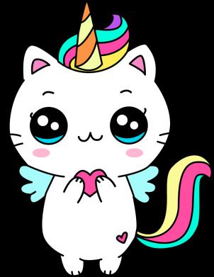 Принт Жіноча футболка The cat is unicorn, Фото № 1 - FatLine