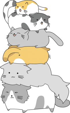 Принт Жіноча футболка Cats, Фото № 1 - FatLine