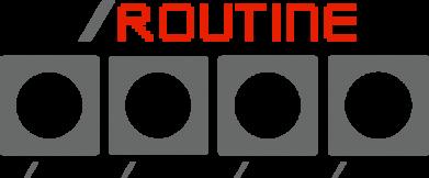 Принт Кружка 320ml Routine code, Фото № 1 - FatLine
