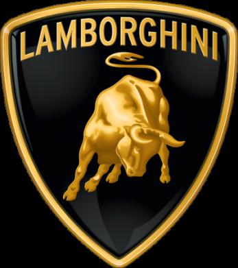 Принт Реглан Lamborghini Logo - FatLine