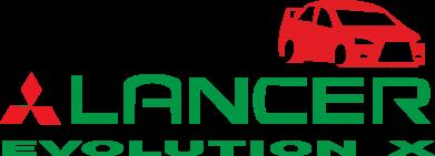 Принт Подушка Lancer Evolution X - FatLine