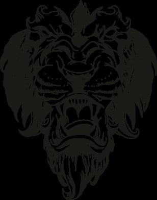 Принт Женская футболка Muzzle of a lion, Фото № 1 - FatLine