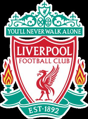 Принт Мужская толстовка на молнии FC Liverpool - FatLine