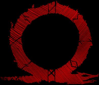 Принт Жіноча футболка God Of War Circle, Фото № 1 - FatLine