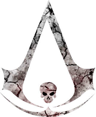 Принт Чехол для Samsung A6s Assassins Creed and skull, Фото № 1 - FatLine