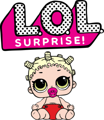Принт Жіноча футболка LoL surprise baby, Фото № 1 - FatLine