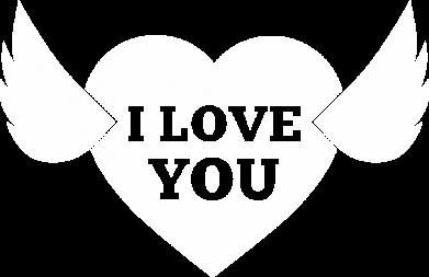 Принт Жіноча футболка Heart with wings, Фото № 1 - FatLine