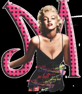 Принт Женская футболка поло Marilyn Monroe - FatLine