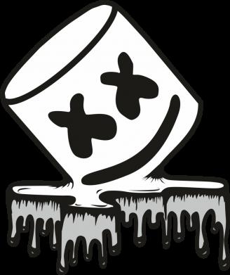 Принт Жіноча футболка Marshmallow melts, Фото № 1 - FatLine